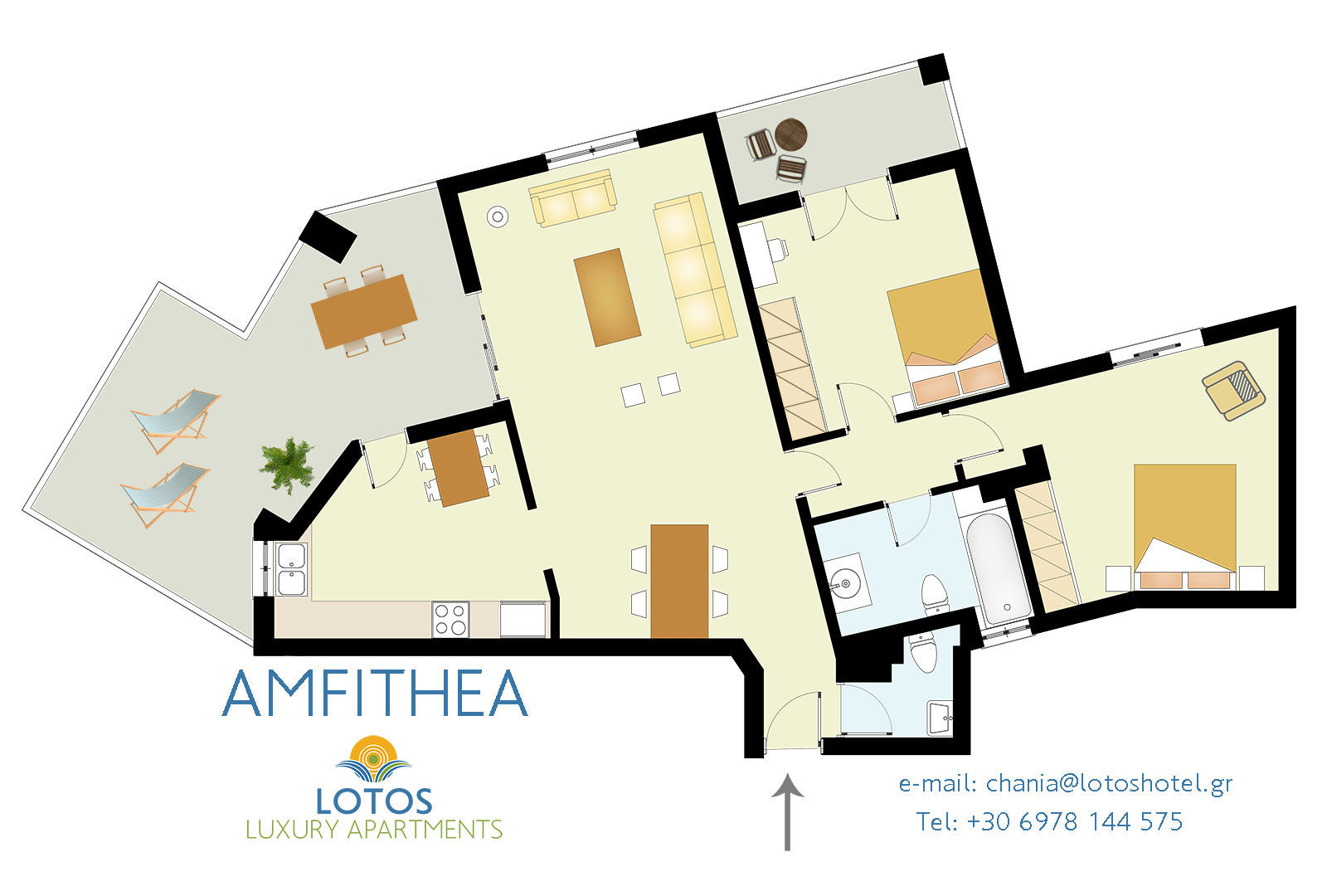 AMFITHEA apartment Floor Plan
